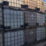 Used Pallet Racking, 275 Gallon Liquid Poly Tote Tanks, Used Warehouse Shelving, Louisville KY, Poly Tote, 330 Gallon IBC Tote Tanks, Used Warehouse Material