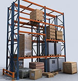 New & Used Pallet Racking – Uprights, Beams & Wire Decks